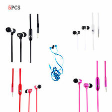Headphone 3.5mm In-Ear Earbud Earphone Headset For iPhone iPod Samsung Phone MP3
