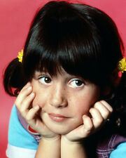 SOLEIL MOON FRYE PUNKY BREWSTER HANDS ON FACE STUDIO POSE PHOTO OR POSTER