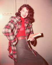 AVA GARDNER COLOR HOLDING SCRIPT PHOTO OR POSTER