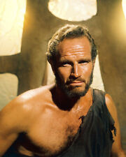 CHARLTON HESTON PLANET OF THE APES RARE COLOR PHOTO OR POSTER