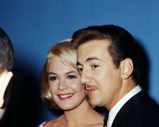 BOBBY DARIN WITH MOUSTACHE SMILING SANDRA DEE PHOTO OR POSTER