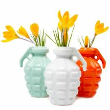 Ceramic Flower Vase Table Centrepiece Display Decoration Kapow CHIVE NEW