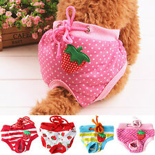 Nice Female Pet Dog Puppy Diaper Pants Physiological Sanitary Panty Nappy Dainty