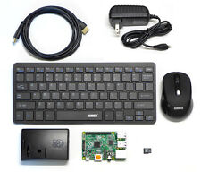 Raspberry Pi 2 Model B with wireless keyboard and mouse, 8GB SD, WiFi