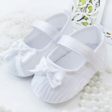 Cute Newborn Kids Baby Girl Shoes Soft Sole anti-slip Crib Shoes Prewalker 0-18M