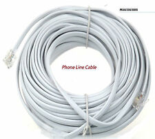 High Quality 2M-30M RJ11 US to RJ11 ADSL Broadband Phone Line Internet Cable UK