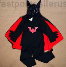 2-7 Batman Boys Kids Costume Set Halloween Party Dress Up Outfit Cosplay
