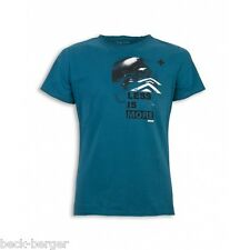 Ducati Style Zone Diavel Less Is More Short-Sleeved T-Shirt Turquoise NEW