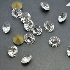 Crystal Clear Point back Rhinestones Crystal Glass Strass Chatons Stones