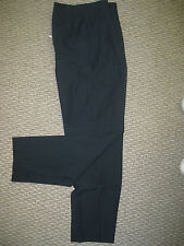 Womens Misses UTY Executive Navy Dress Pants pleated 0 1 2 3 4 5  8 NEW washable
