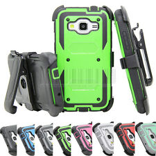 Hybrid Rugged Hard Case Cover For Samsung Galaxy Core Prime Prevail LTE G360