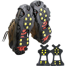Non-slip Snow Shoes Boots Cover Overshoes Step Ice Cleats Spikes Grips Crampons