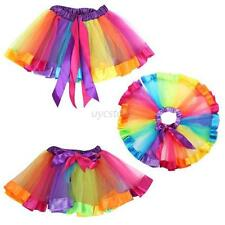 Girls Toddler Kids Ballet Tutu Princess Dress Up Dance Wear Costume Dress Skirt