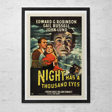 CLASSIC MOVIE POSTER -  Vintage Film Art Poster Edward G Robinson Movie Poster F