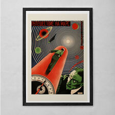 Vintage SOVIET SCI-FI Art Print - Vintage B-Movie Poster - Cult Movie Poster Cla