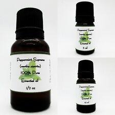 Peppermint Supreme Pure Essential Oil Buy any 3 same size get 1 Free