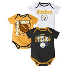 Pittsburgh Steelers NFL Infant/Baby Choose Your Color 1pc Bodysuit/Onesie:18m