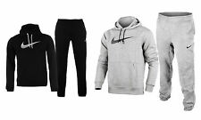 New Nike Mens Overhead Full Tracksuit Fleece Hooded Jogging Bottom Joggers