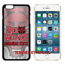 NCAA Arkansas State Red Wolves iPhone 4S, 5, 5S, 6, 6S & 6 Plus TPU Phone Case
