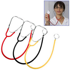 Pro Dual Head EMT Stethoscope for Doctor Nurse Medical Student Health Blood QT