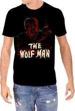 WOLFMAN Universal Studios Monsters Mens T-Shirt Lon Chaney Jr New S-2XL