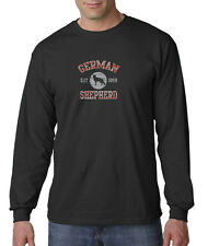 German Shepherd Dog Cute Puppy GSD AKC Long Sleeve T-Shirt S-3XL