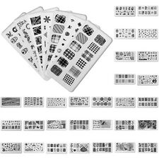 New Nail Art Image Stamp Stamping Plates Manicure Template DIY Design Manicure