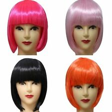 Lady Charm Fashion Full Bangs Short Straight Wig BOBO Cosplay Party Full Wig H62