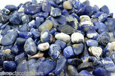 Sodalite Grade B Small Size QTY - 3 PIECES Tumbled Stone Healing Crystal  Reiki