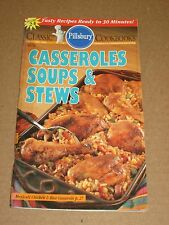 CLASSIC PILLSBURY COOKBOOKS CASSEROLES SOUPS & STEWS OCTOBER 1994 #164