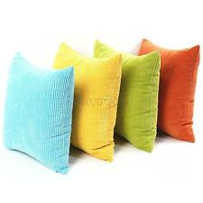 Fashion Sofa Pillow Case Cover Confortable Corn Kernels Corduroy Cushion Shell