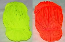 5 METRES 3mm POLYESTER STRONG CORD High Visibility colours P&P FREE&FAST FROM UK
