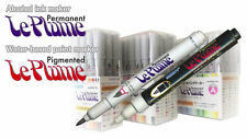 Marvy Le Plume Permanent (Alcohol based ink) individual marker: Cool Grey range