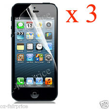 3X iPhone 6/5/4/S Plus Screen Protector Crystal Clear  LCD Guard SP
