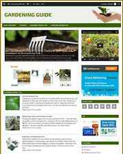 GARDENING GUIDE - ESTABLISHED WEBSITE WITH INTEGRATED ASTORE - Free Domain Name