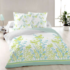 Purity - SoulBedroom 100% Cotton Bed Set (Duvet Cover & Pillow Cases) Floral