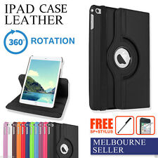 Apple iPad 2/3/4, Smart 360° Rotating Leather Case Cover