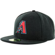 "New Era 59Fifty Arizona Diamondbacks ""Alternate 1"" Fitted Hat (Black) MLB Cap"