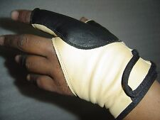 TRADITIONAL BOW SHOOTING LEATHER GLOVE TOP QUALITY GLOVE 100% REAL LEATHER GLOVE