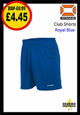 Stanno Club Football Shorts Kids/Boys Royal Blue Size 116/128 approx Age 5/6 NEW