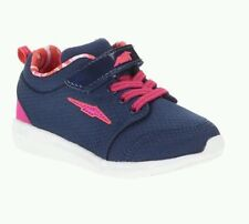 Avia Toddler Girls' Blue/Pink Lightweight Cross-Training Sneakers/Shoes: 7-11