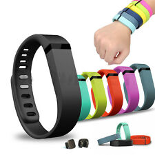 Large/Small Replacement Wrist Band Wristband for Fitbit Flex & Clasps No Tracker