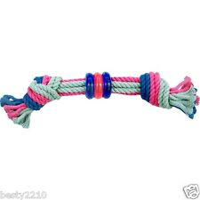 HAPPY PET Ring and Rope Tugger Dog and Puppy Toy