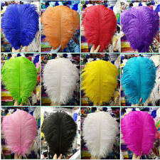 Wholesale! 10-100pcs 6-24 inch/15-60 cm high quality natural Ostrich feathers