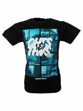 SALE £7 // New Cheats & Thieves NYC Mens Cotton Black T-Shirt Top in Large