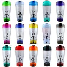 450ML Portable Protein Shaker Tornado Cocktail Mixer HandHeld Battery Bottle Cup
