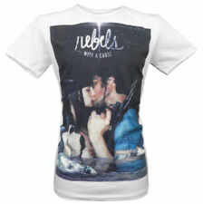 SALE £9 // New Cuckoos Nest Mens Size Medium Rebels Cotton Tee T-Shirt in White