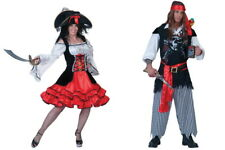 Pirate Pirate Pirate Fancy Dress Privateer Pirate Men's Women's Fancy Dress
