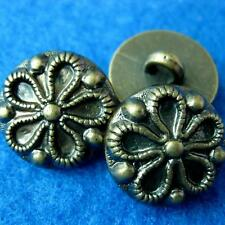 10 Sewing Buttons Craft Flower Rose Daisy Round Shank Diy Vintags Like Lots Acce