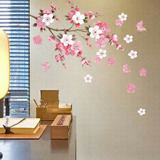 Cherry Blossom Sakura Flower Tree Removable Wall Decal Sticker Art Home Decor